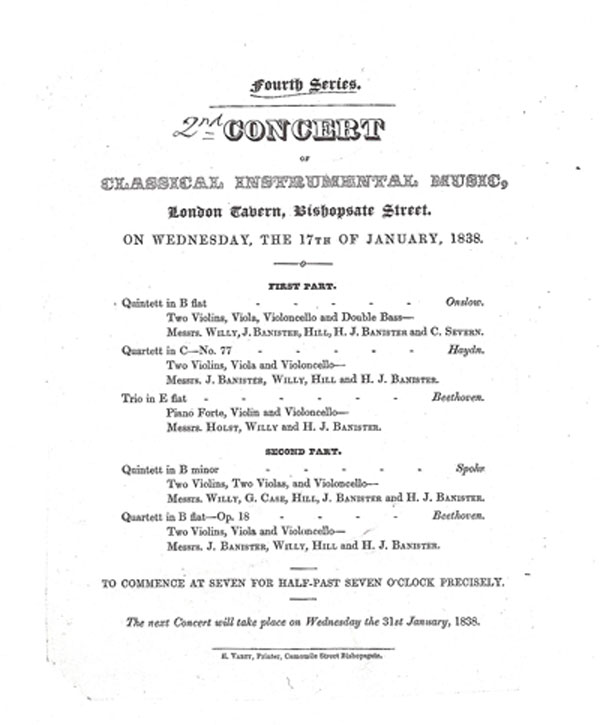 Concert Program Doctors In Concert Program Trafalgsr Concert